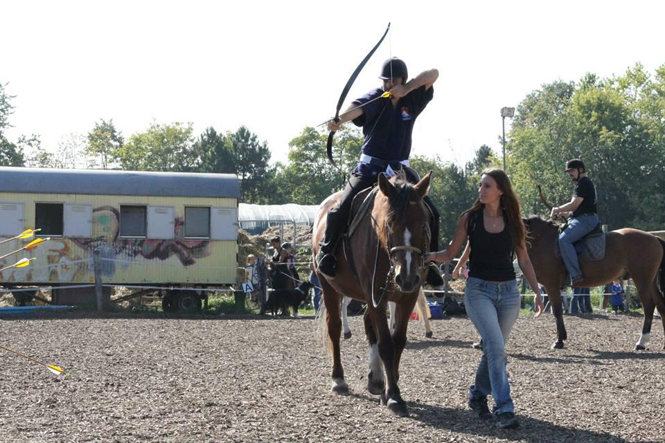 1er cours de Bajutsu au Ranch Blackyland